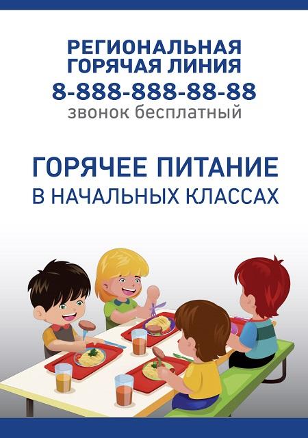 Плакат питание регион